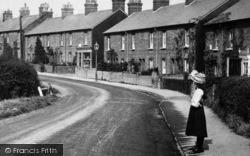 Stoughton, Girl In The High Street 1908