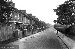 Stoughton, Manor Road 1908