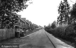 Stoughton, Manor Road 1925