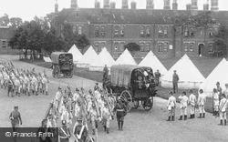 Stoughton, Soldiers, The Barracks 1906