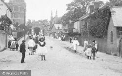Stoughton, The Public, Barracks Road 1906