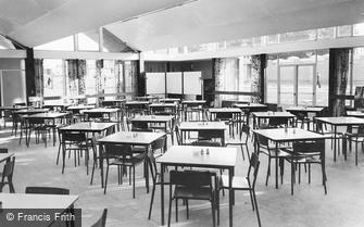 Stoughton, WRAC, the Dining Hall c1955