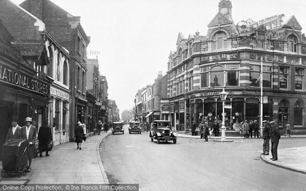 Stourbridge, High Street 1931