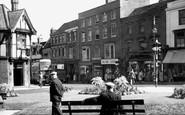 Stourbridge, High Street and Gardens c1955