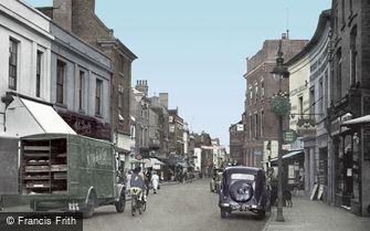 Stourbridge, High Street c1950