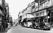 Stourbridge, High Street c1955
