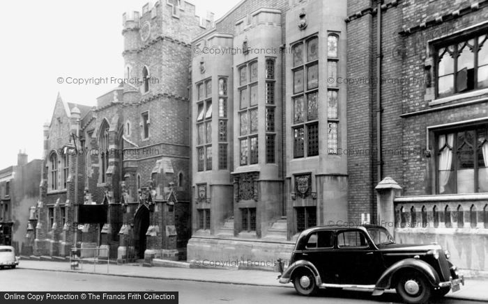 Stourbridge, King Edward VI School c1950