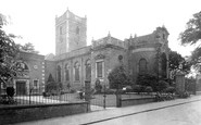 Stourbridge, St Thomas' Church 1931