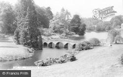 Stourhead, Gardens c.1965