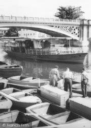 Stourport-on-Severn, Boat Hire c.1965