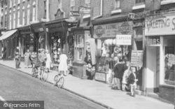 Stourport-on-Severn, High Street, Shops c.1965