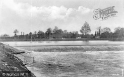 Stourport-on-Severn, Lincombe Weir c.1938