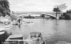 Stourport-on-Severn, The Bridge c.1965