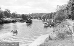 Stourport-on-Severn, The River, Looking Upstream c.1965