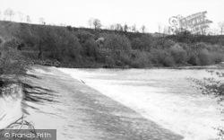 Stourport-on-Severn, The Weir c.1955