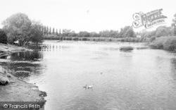 Stourport-on-Severn, The Weir c.1960