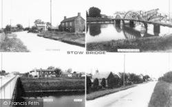 Composite c.1965, Stow Bridge