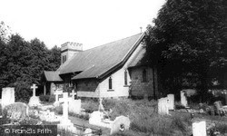 St Peter's Church c.1965, Stow Bridge