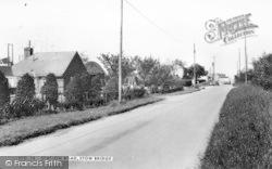 Station Road c.1965, Stow Bridge