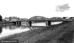 The River Great Ouse And Bridge c.1965, Stow Bridge