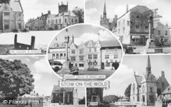 Stow-on-The-Wold, Composite c.1955