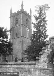 Stow-on-The-Wold, St Edward's Church c.1955