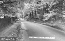 Stow-on-The-Wold, Station Road c.1955