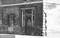 Stow-on-The-Wold, The Post Office Door c.1955