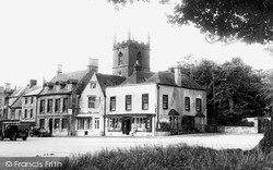 Stow-on-The-Wold, The Square And St Edward's Church c.1950