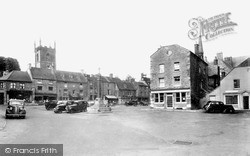 Stow-on-The-Wold, The Square c.1945