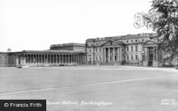 Stowe School, North Front c.1960
