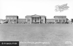 Stowe School, South Front c.1960