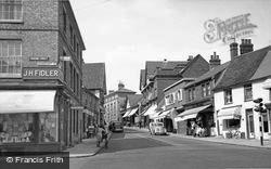 Bury Street c.1955, Stowmarket
