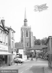 Church And Corner c.1960, Stowmarket