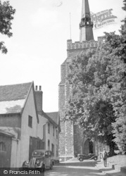 Church Of St Peter And St Mary c.1955, Stowmarket