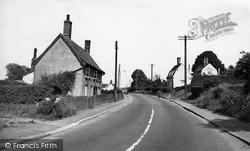 Ipswich Road c.1955, Stowmarket