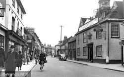 Ipswich Street c.1950, Stowmarket