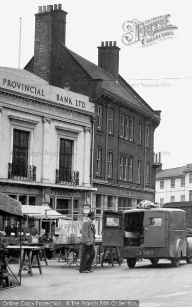Stowmarket Market C 1950 Francis Frith