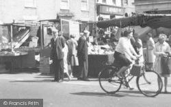 Market Day c.1960, Stowmarket