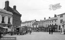 Market Place c.1950, Stowmarket