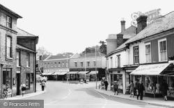 Market Place c.1960, Stowmarket