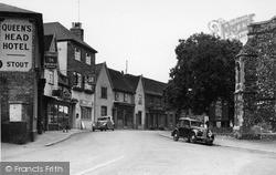 Station Road c.1950, Stowmarket
