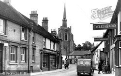 Tavern Street c.1950, Stowmarket