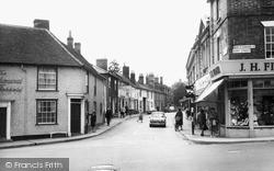 Tavern Street c.1960, Stowmarket