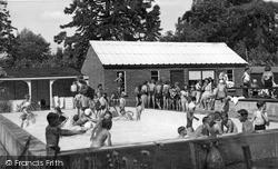 The Children's Pool c.1955, Stowmarket