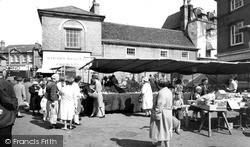 The Market c.1965, Stowmarket