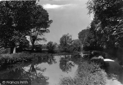 The River Gipping 1922, Stowmarket