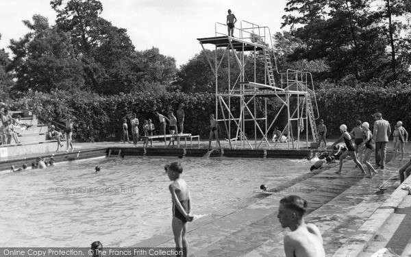 stowmarket the swimming pool francis frith
