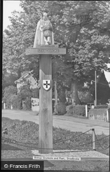 Bishop Grosseteste And Poet c.1955, Stradbroke