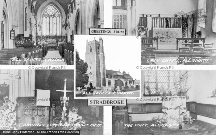 Photo of Stradbroke, Composite c.1950